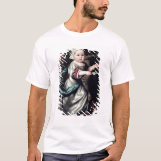 Young girl at a fountain, 1662 T-Shirt