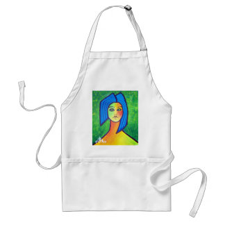 Young Girl by Piliero Standard Apron