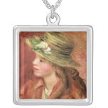 Young Girl in a Straw Hat, c.1908 Custom Jewelry