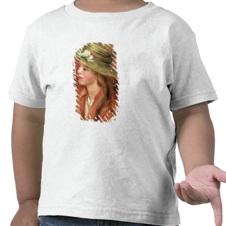 Young Girl in a Straw Hat, c.1908 T-shirt