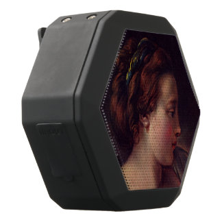 Young Girl Jeune fille by Francois Boucher Black Boombot Rex Bluetooth Speaker