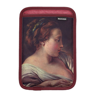 Young Girl Jeune fille by Francois Boucher iPad Mini Sleeves