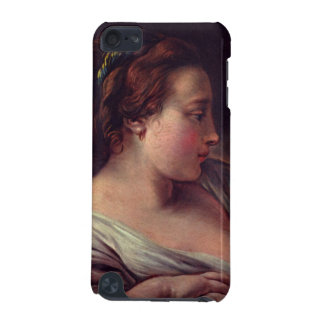 Young Girl Jeune fille by Francois Boucher iPod Touch (5th Generation) Cases