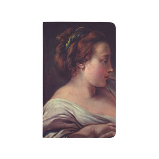 Young Girl Jeune fille by Francois Boucher Journals