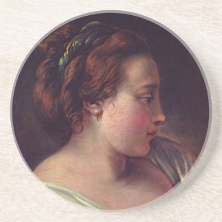 Young Girl Jeune fille Drink Coaster