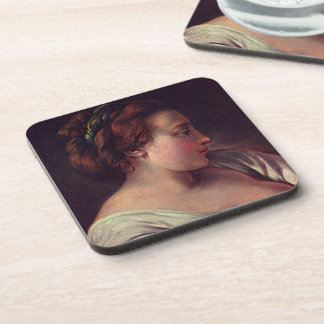 Young Girl Jeune fille Coasters