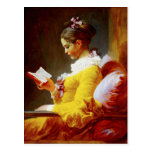 Young Girl Reading - 18th century painting