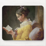 Young Girl Reading, c.1776 Mousepad