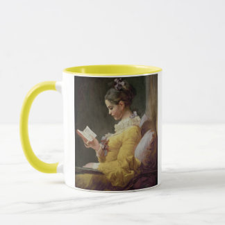 Young Girl Reading, c.1776 Mug