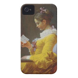 Young Girl Reading - Jean-Honoré Fragonard iPhone 4 Case