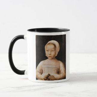 Young Girl with a Dead Bird, c.1500-25 Mug