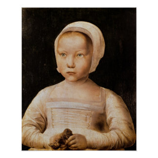 Young Girl with a Dead Bird, c.1500-25 Poster
