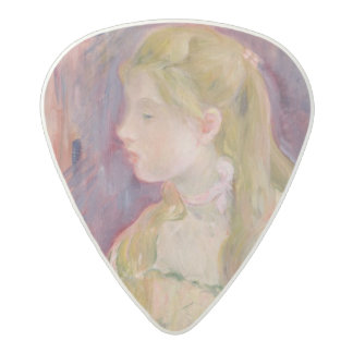 Young Girl with a Fan, 1893 Acetal Guitar Pick
