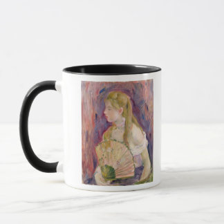 Young Girl with a Fan, 1893 Mug