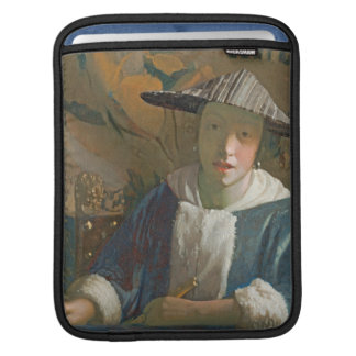 Young Girl with a Flute, c.1665-70 iPad Sleeve
