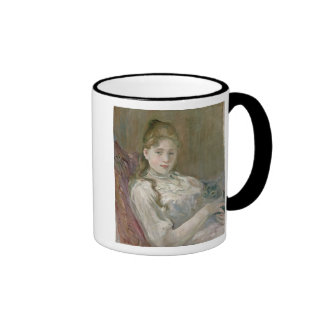 Young Girl with Cat, 1892 Mugs