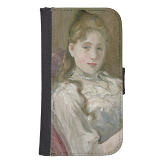 Young Girl with Cat, 1892 Samsung S4 Wallet Case