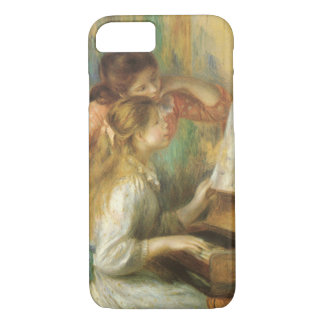 Young Girls at Piano by Pierre Renoir iPhone 8/7 Case