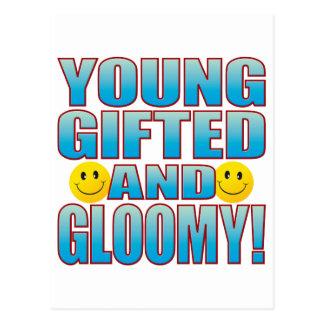 Young Gloomy Life B Postcard