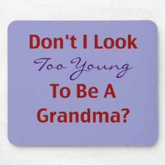 Young Grandma Mouse Mat