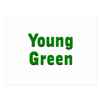 Young Green Postcards