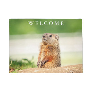 Young Groundhog Doormat