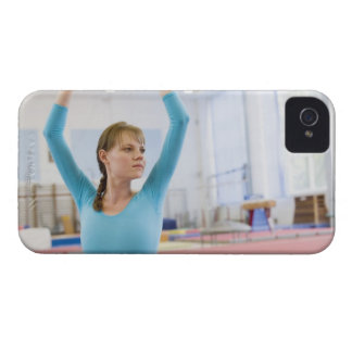 Young gymnast posing iPhone 4 Case-Mate case