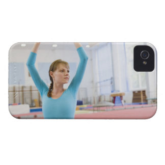Young gymnast posing iPhone 4 Case-Mate cases