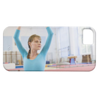 Young gymnast posing iPhone 5 covers
