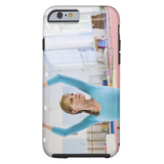 Young gymnast posing tough iPhone 6 case