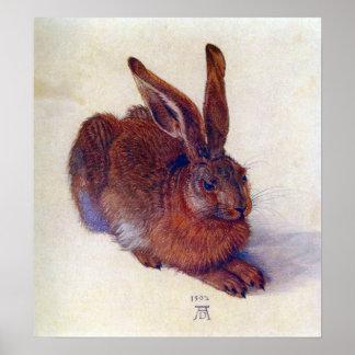 Young Hare by Albrecht Durer Renaissance Art Poster