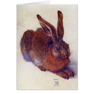 Young Hare by Albrecht Durer, Renaissance Fine Art Card