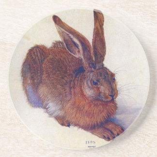 Young Hare by Albrecht Durer, Renaissance Fine Art Coaster