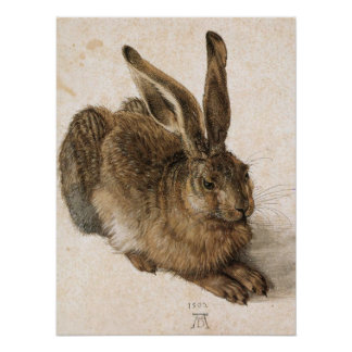 'Young Hare' Print