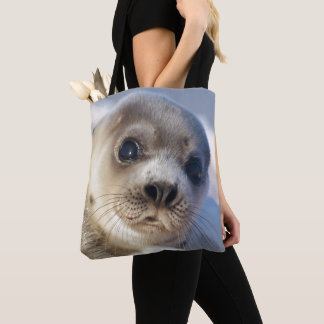 Young Harp Seal Tote Bag