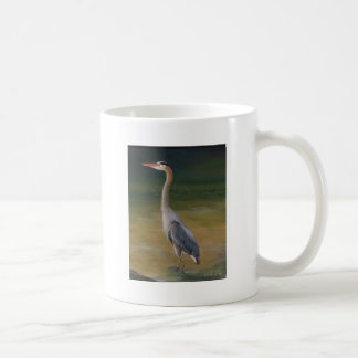 Young Heron Coffee Mug