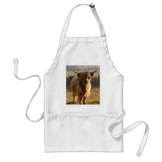 Young Highland Cow Standard Apron