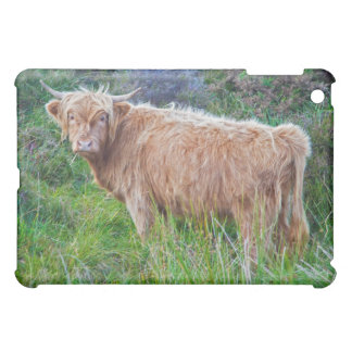 Young Highland Cow iPad Mini Case