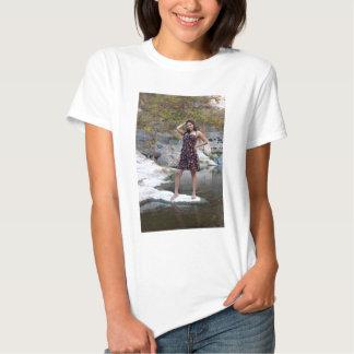 Young Hispanic Woman Tee Shirt