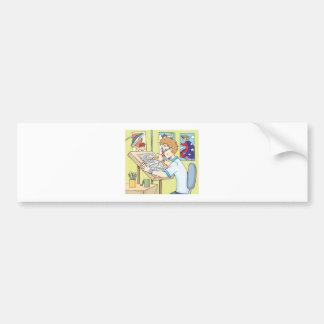 Young Illustrator Bumper Sticker