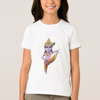 Young Krishna in a Vrukshasana Yoga pose T-Shirt