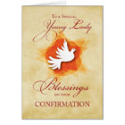 Young Lady, Confirmation Congratulations Blessings Card