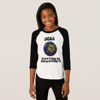 Young Lady's 3/4 T-Shirt