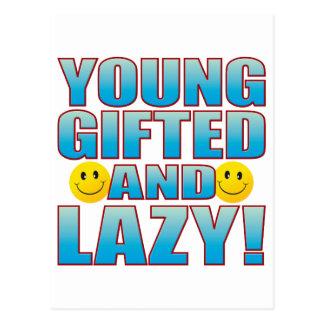 Young Lazy Life B Postcard