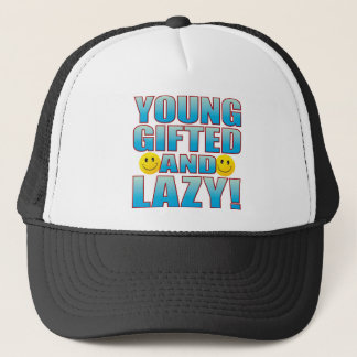 Young Lazy Life B Trucker Hat