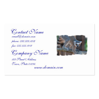 Young Lemur Business Cards