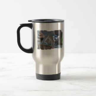 Young Lemur Travel Mug