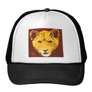 Young Lion Face Cap