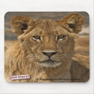 Young Lion Mousepad