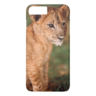 Young lion sitting iPhone 7 plus case